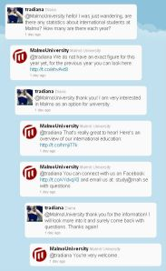 An awesome conversation on twitter