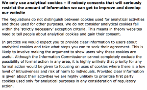 ICO Cookie Guidelines